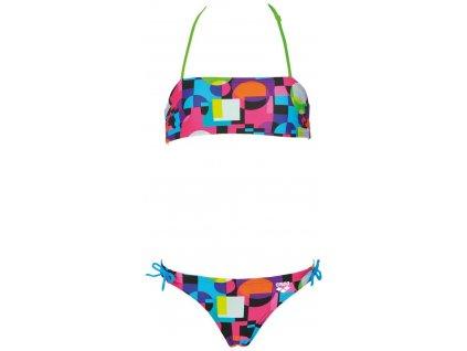 Arena Marble Jr. plavky dívčí dvoudílné