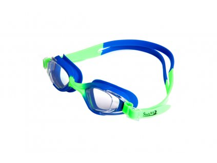 Plavecké brýle SwiMi Kai modrá, zelená
