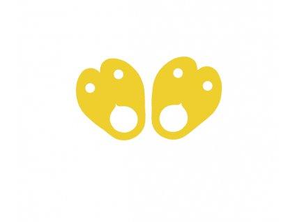 Dena nadlehčovací křidélka žlutá