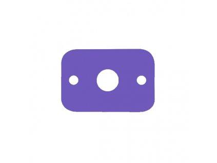 Dena plavecká deska fialová
