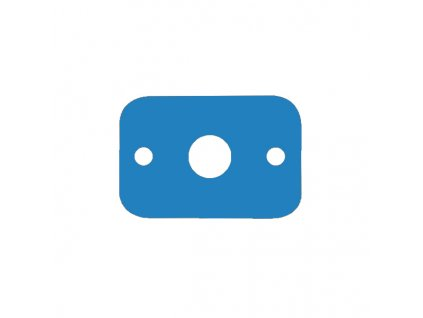 Dena plavecká deska modrá