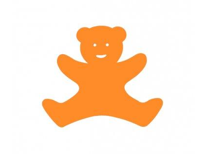 Dena plavecká deska medvídek oranžová