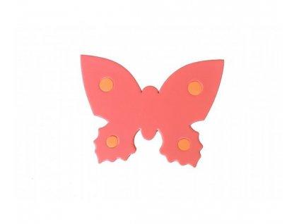 Dena plavecká deska motýl červená