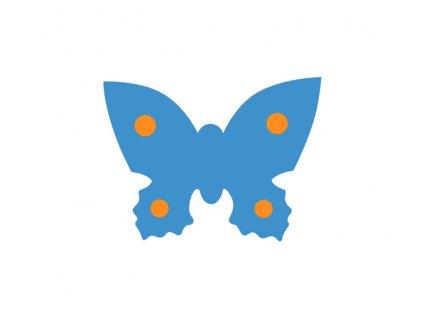 Dena plavecká deska motýl modrá