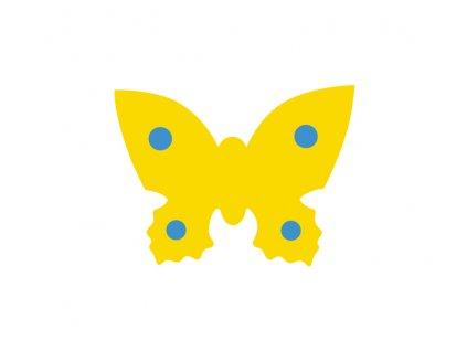 Dena plavecká deska motýl žlutá