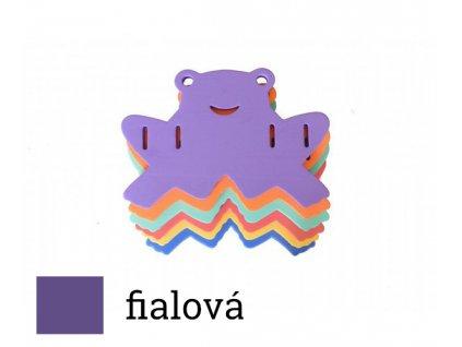 Dena deska žabka fialová