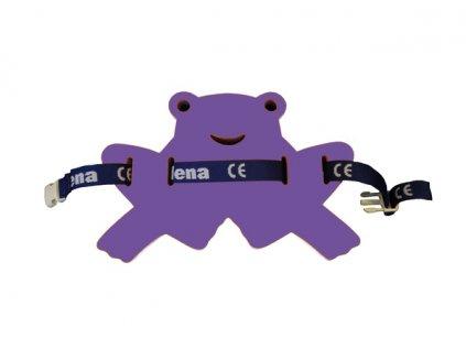Dena Plavecký pás žabka fialová