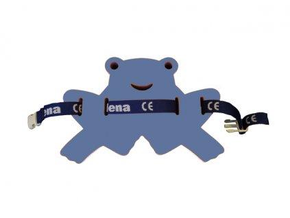 Dena Plavecký pás žabka modrá