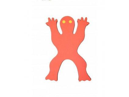 Dena plovák žába červená