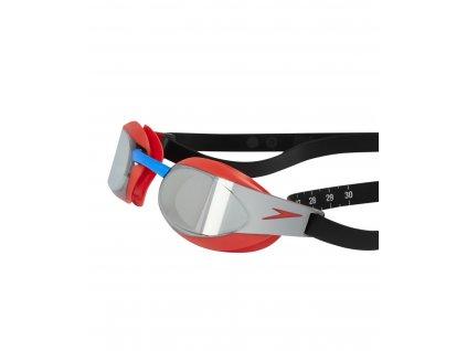 Plavecké brýle Speedo Elite Goggle Mirror Fastskin 3 RedSilver (2)