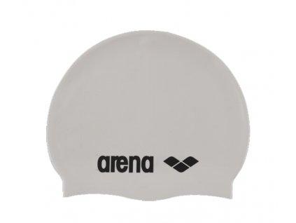 Plavecká čepice Arena Classic logo silicon