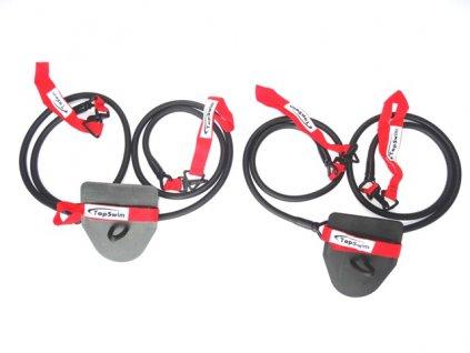 POsilovací gumy červené