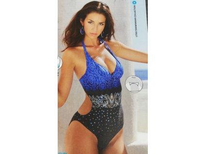 Litex 85083 plavky dámské vcelku košíčky pushup velikost 40