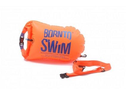 Borntoswim plavecká bójka a vak oranžová