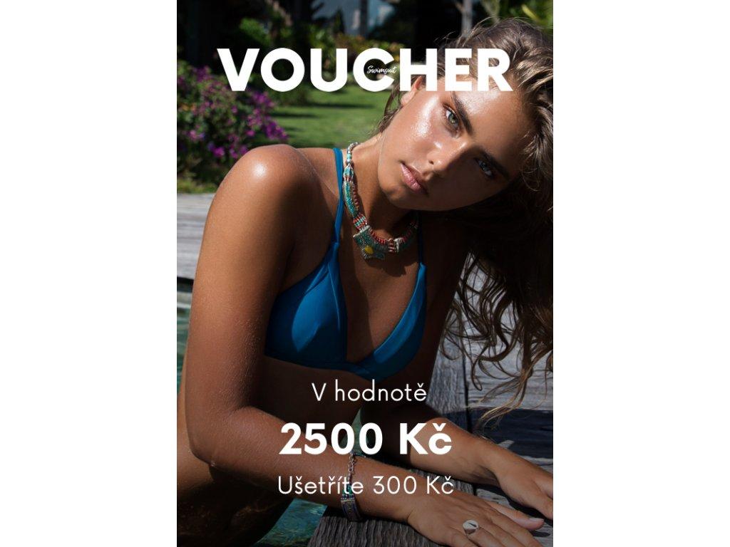 Voucher v ceně 2500 Kč (Hodnota 2500)