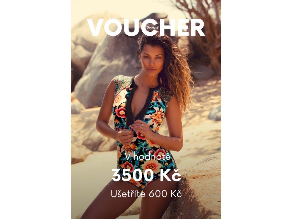 Voucher v ceně 3500 Kč (Velikost 3500)
