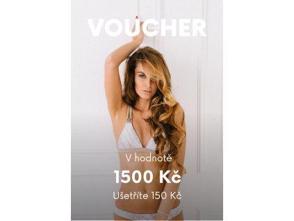 Voucher v ceně 1500 Kč (Hodnota 1500)