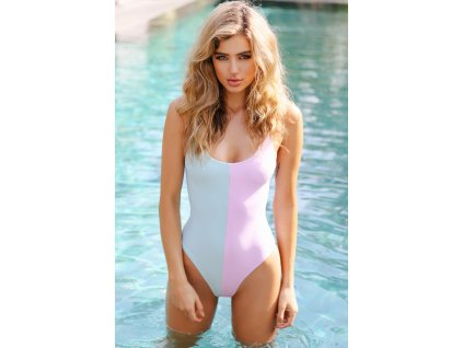 Lilac & Aquamarine One Piece