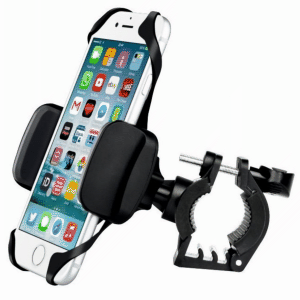 Držáky mobilního telefonu na řidítka kola