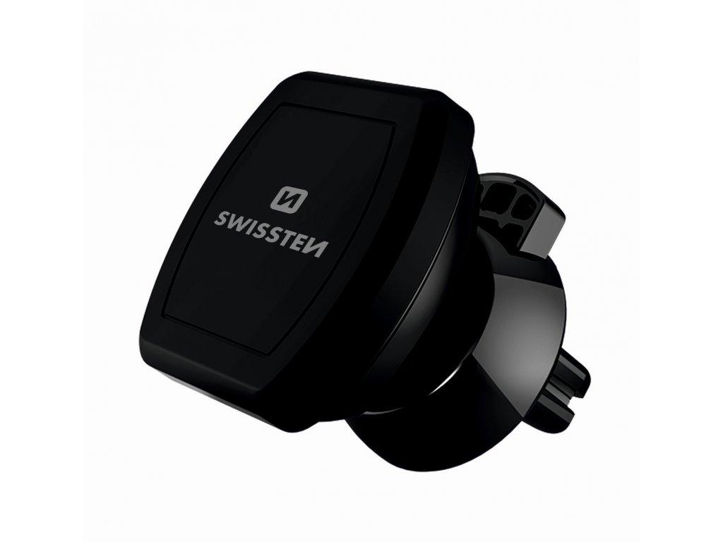 Univerzální magnetický držák spolehlivě udrží telefon a navigaci i při ostřejší jízdě.