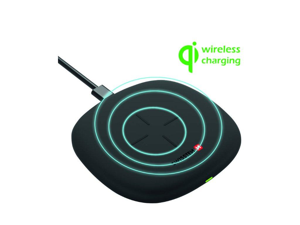 SWISSTEN wireless nabíječka 10 W  + Dárek: Doprava Zásilkovnou ZDARMA
