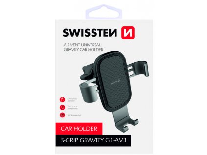SWISSTEN držák do auta Gravity G1-AV3  + Dárek: Doprava Zásilkovnou ZDARMA