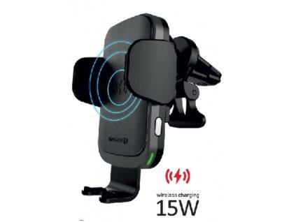 SWISSTEN držák do auta s bezdrátovým nabíjením 15 W S-Grip W2-AV5  + Dárek: Doprava Zásilkovnou ZDARMA