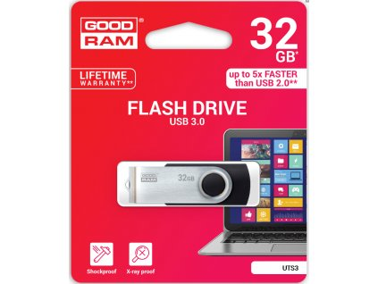 GOODRAM twister USB 3.0 flash disk 32GB  + Dárek: Doprava Zásilkovnou ZDARMA