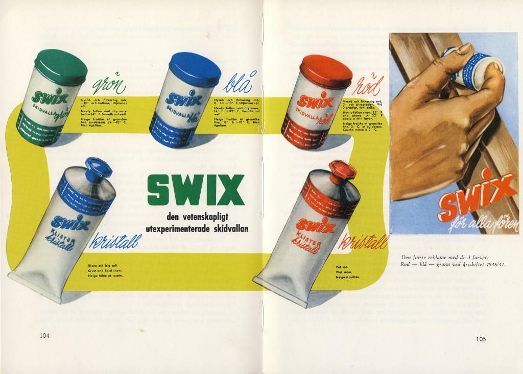 Historie vosků Swix CERA NOVA