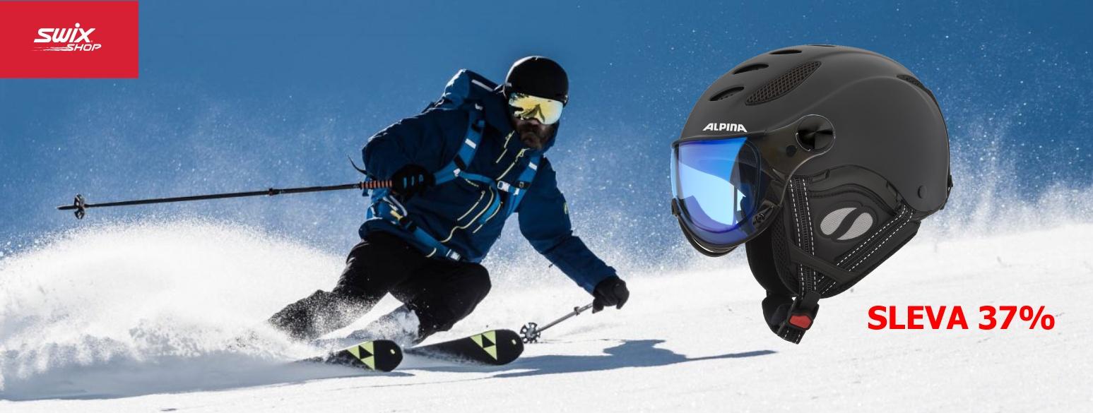 Lyžařská helma Alpina Jump JV Varoflex VHM