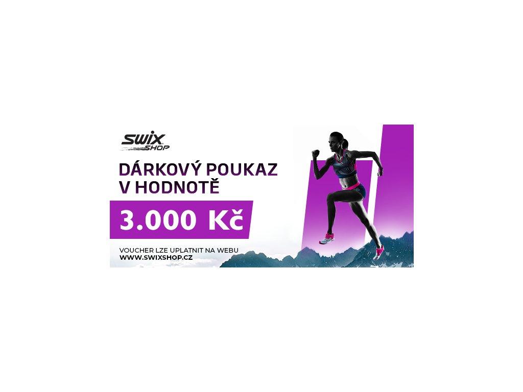swix poukaz 3.000