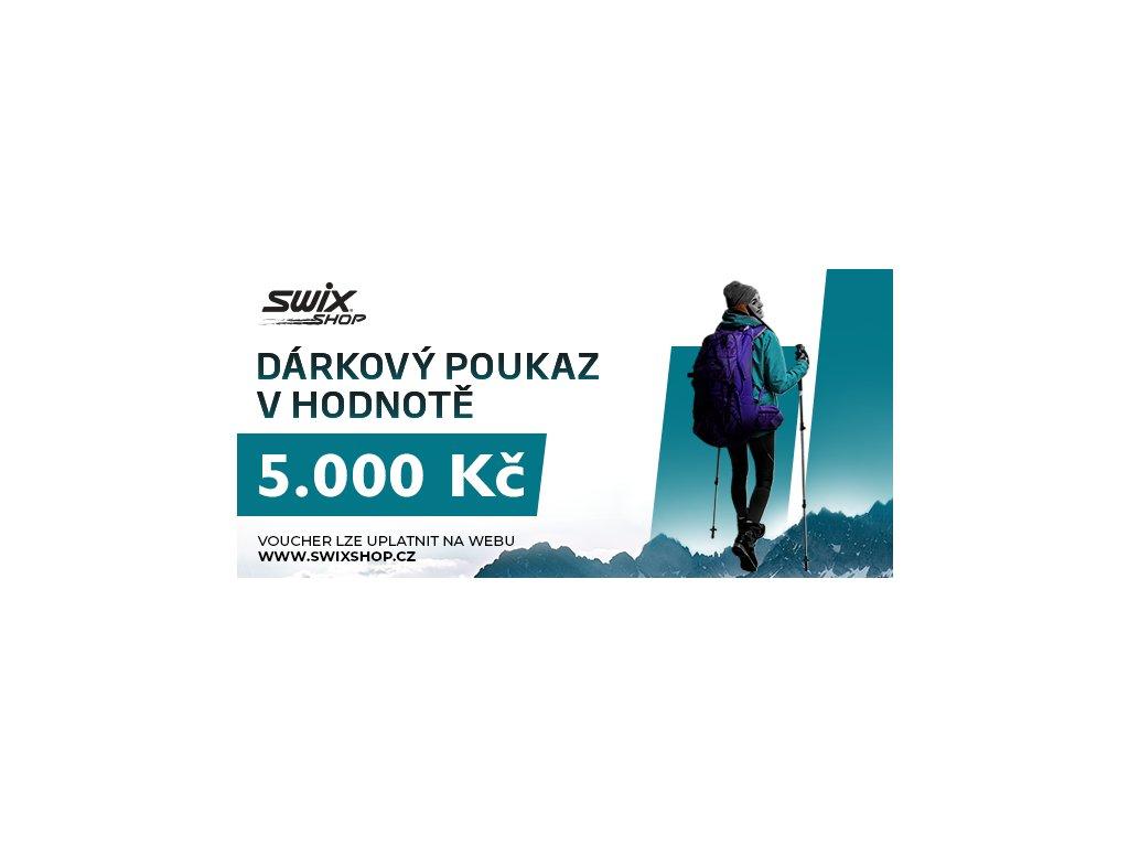 swix poukaz 5.000