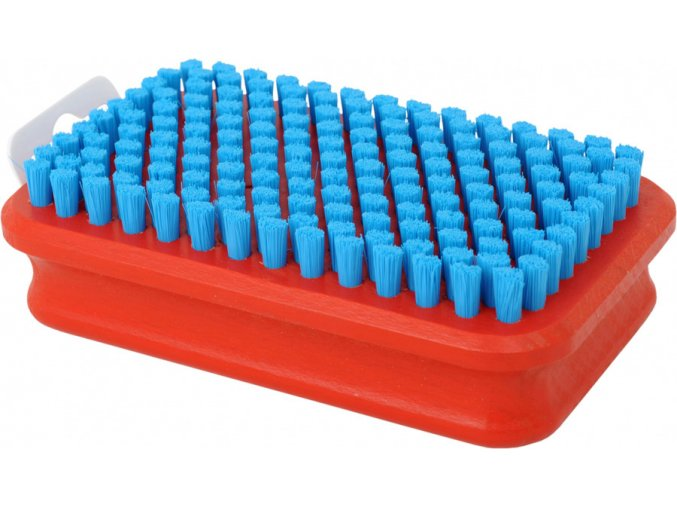 T0160B Modrý nylonový kartáč na doleštění Swix