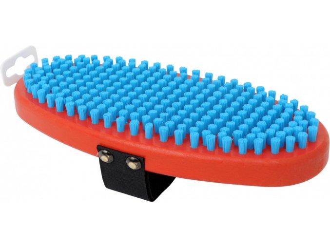 T0160O Modrý nylonový kartáč Swix