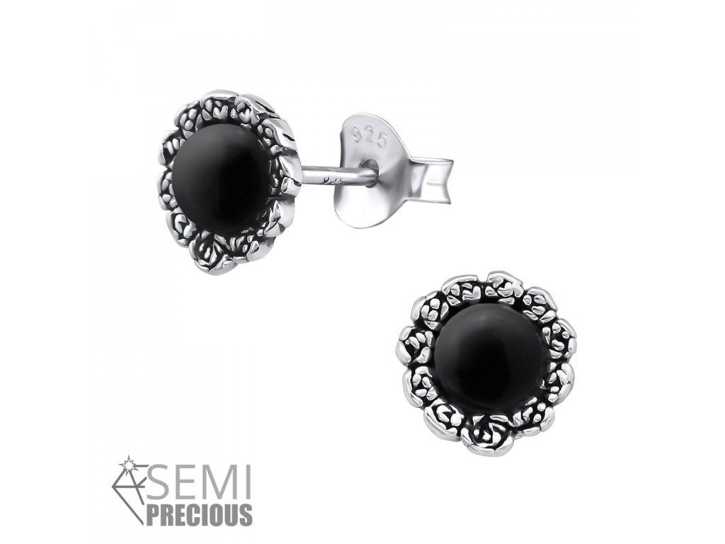 ES JB7413 S OX 30299 Genuine Black Onyx