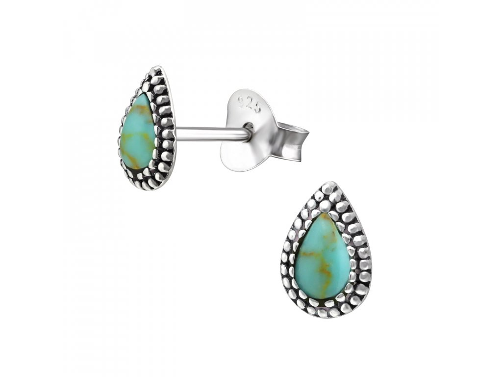 ES APS2473 SHELL OX 32384 Green Turquoise
