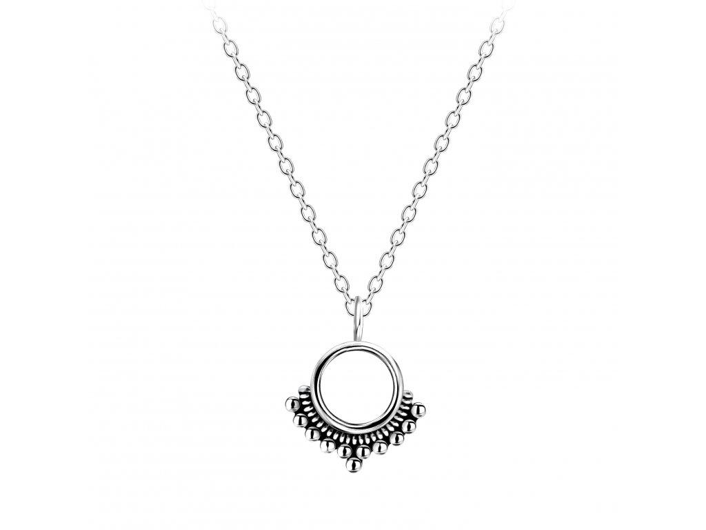 Stříbrný náhrdelník Ethnic  Ag 925/1000