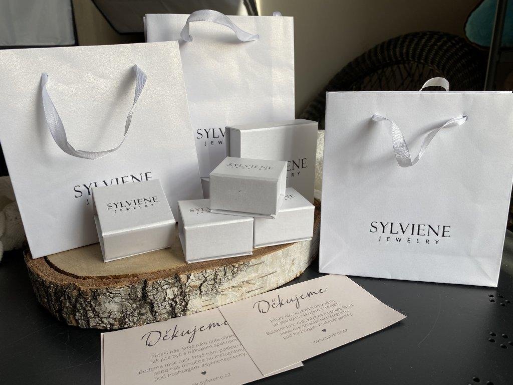 Dárkové balení Sylviene na prstýnek/náušnice