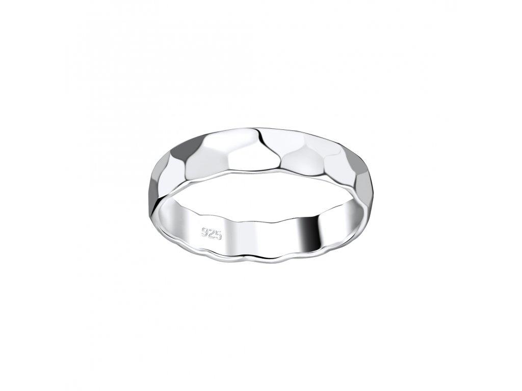 Stříbrný prstýnek Pattern  Ag 925/1000