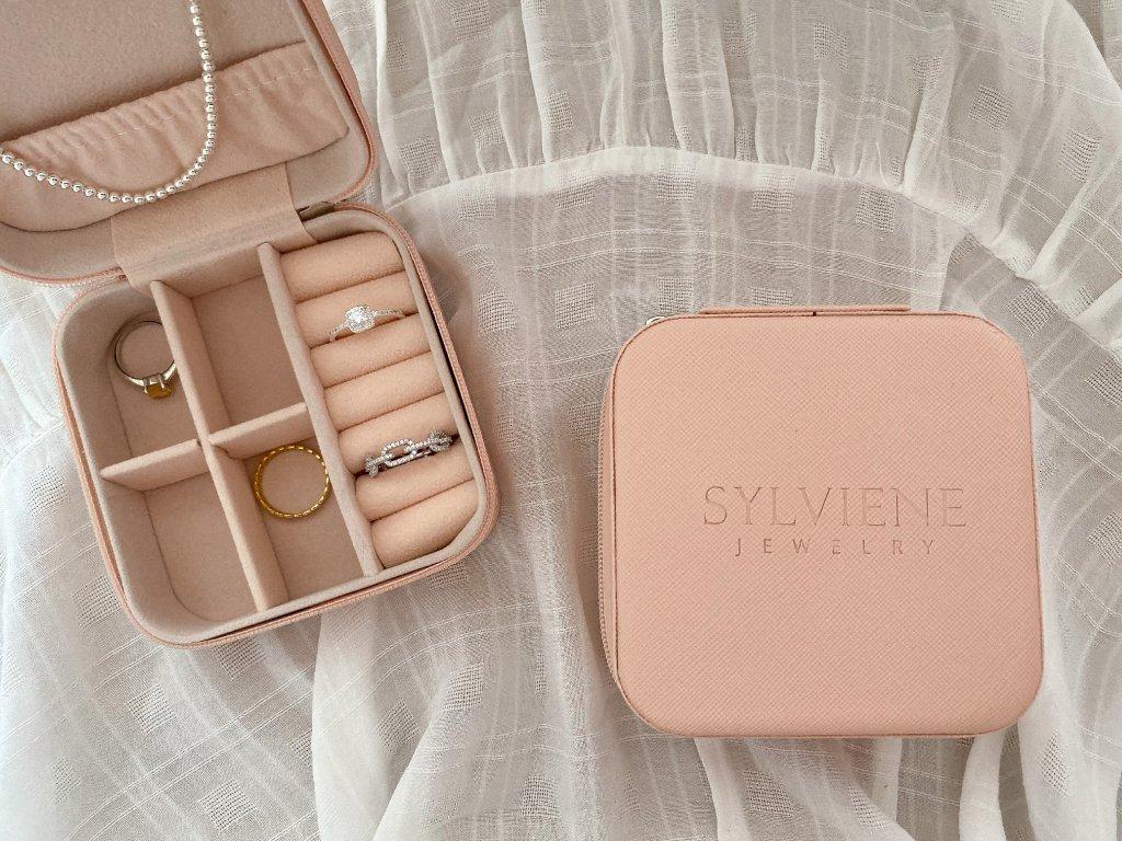 Sylviene šperkovnice Pink