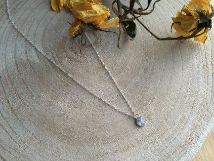 Náhrdelník Silver Moon (Délka 54cm)