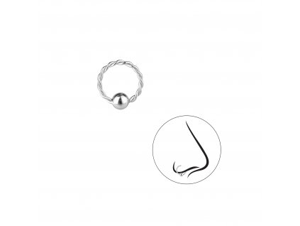 Piercing kroužek do nosu