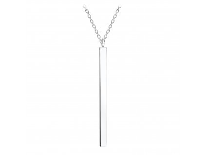 Stříbrný náhrdelník BAR 25 mm