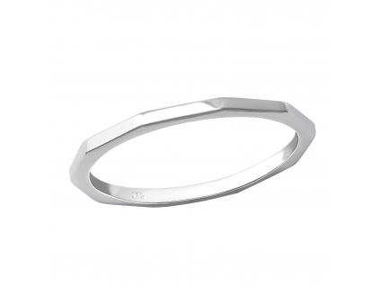 stříbrný prsten Sylviene
