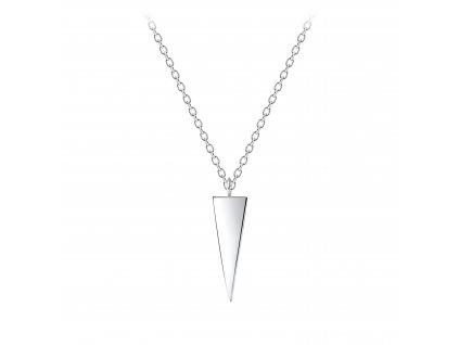 Stříbrný náhrdelník Triangl  Ag 925/1000
