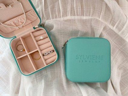 Sylviene šperkovnice Mint