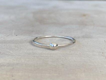 Stříbrný prstýnek Simple  Ag 925/1000
