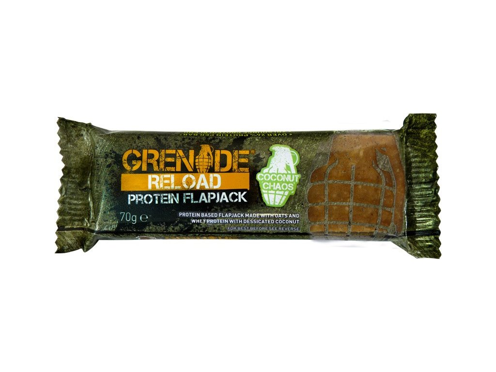 reload protein flapjack grenade