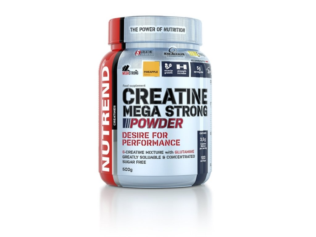 creatine mega strong powder nutrend