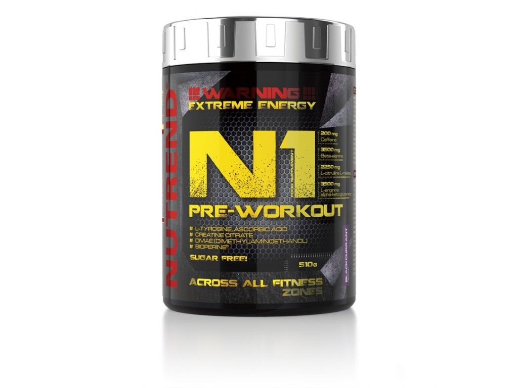 N1 pre workout nutrend